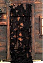 WMU - 12' Black Creepy Cloth Decoration, Black,