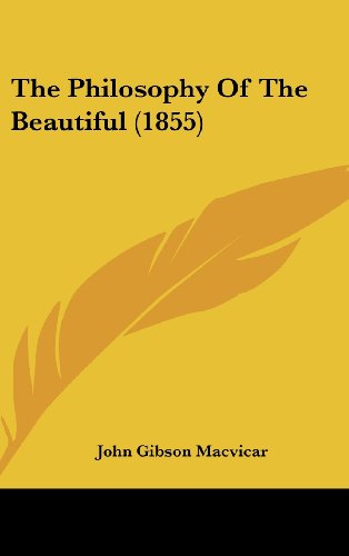 The Philosophy of the Beautiful (1855)
