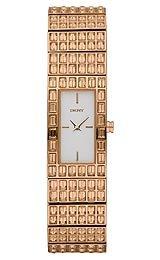 DKNY Glitz Silver-Tone Dial Women's Watch #NY8440