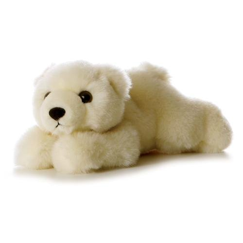 "Aurora MINI FLOPSIE 8"" LIL' SLUSHY The POLAR BEAR"