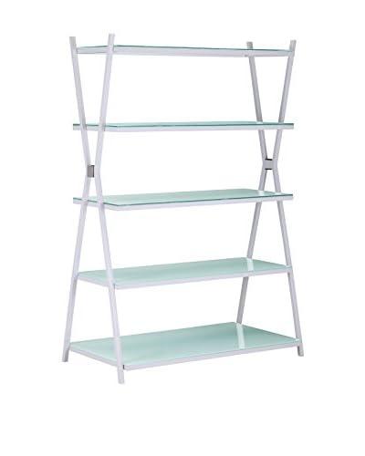 Zuo Xert Wide Shelf, White