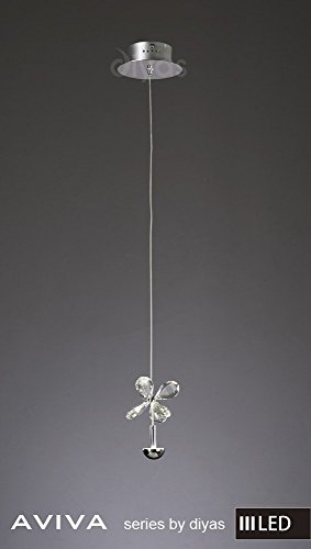 aviva-pendentif-1-lumiere-4000-k-led-en-chrome-poli-cristal