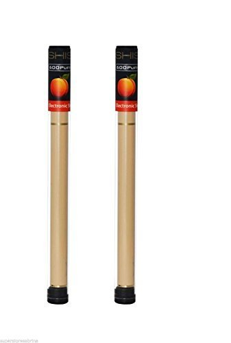 -Nicotine-libre--ou--Sans-Nicotine--2-X-PEACH-stylos-Shisha-Star-pen-grade-Premium-faite-avec-une-pointe-de-cristal-et-600-bouffes-E-SHISHA-ESHESHA-stylo-jetable-lectronique-Cigarette-SHISHA-STICK-nar