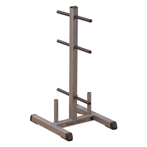 Body Solid Standard Plate Tree and Bar Holder