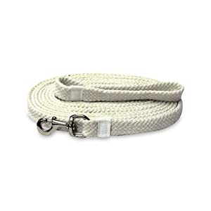 Braided Cotton Lunge Line with Snap by TASA