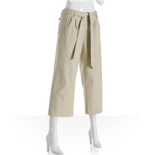 Fantastic Victoria39s Secret Pants  5XHP VS Khaki Wide Leg Linen Pants