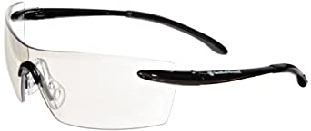Jackson Safety 23008 Smith & Wesson Caliber Indoor/Outdoor Anti Fog Lens Safety Eyewear with Black Frame (Case of 12)