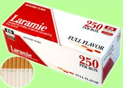 Laramie Full Flavor Cigarette Tubes King Size (10 Boxes/ 250 Ct Per Box =2500 Tubes) Compare to Premier Full Flavor