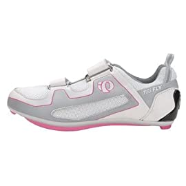 Pearl Izumi 2008/09 Women's Tri Fly II Triathon Cycling Shoe - White/Black - 5733-509 (41)