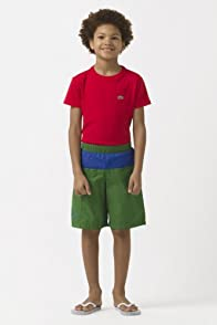 Boy's Color Block Swim Trunk