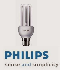 Philips Essential 18W B22 CFL Bulb (Cool White, Pack of 3) Image