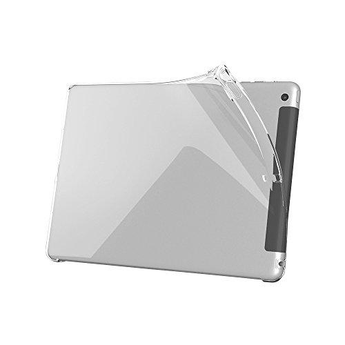 iBUFFALO iPad mini 3 (2014年) ソフトケース 液晶保護フィルム付 クリア BSIPD714KSCR 【透明感が長持ち 紫外線で黄ばみにくい クラリティ採用】