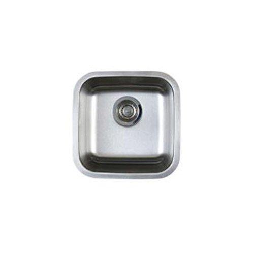 Blanco Bl441026 Stellar Bar Bowl Undermount Sink, Refined Brushed front-1059120