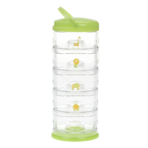 Innobaby Five Tier Packin' Smart Storage System, Lime Sorbet (Sorbet Serving Bowls compare prices)