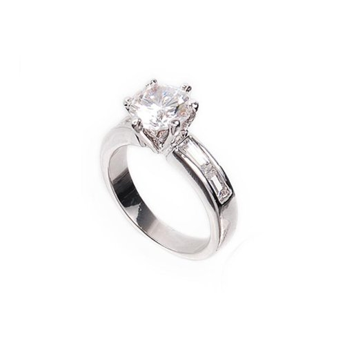 Trendy Cubic Zirconium Ring #026637