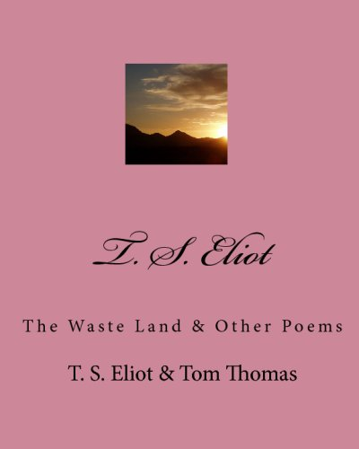 t s eliots the wasteland T s eliot's poem the waste land was published in 1922 and depicts the devastation and despair brought on by world war i, in which he lost one of his close friends according to the poet ezra pound, the poem represents the collapse of western civilization.