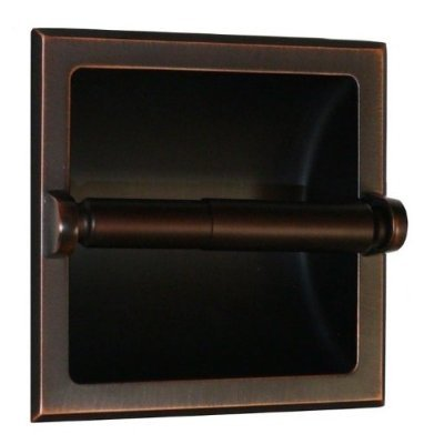 Arista Bath Products Recessed Toilet Paper Holder, Oil Rubbed Bronze photo