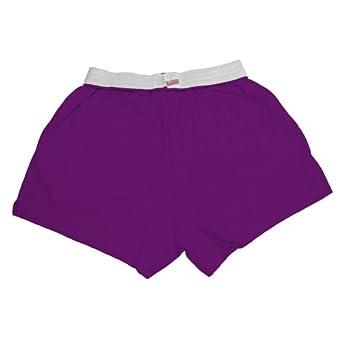 Buy MJ Soffe Girls 7-16 Authentic Soffe Shorts, Purple, Medium by Soffe