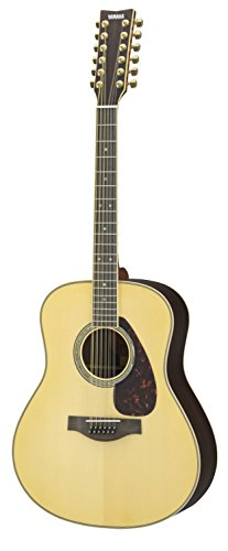 Yamaha L-Series LL16R 12-String Solid Rosewood Acoustic-Electric Guitar w/ Case, Natural