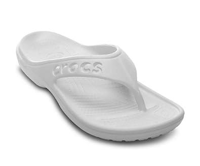 Crocs - - Flip Baya Unisex: Schuhe, EUR: 37.5, Oyster