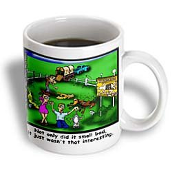 Roadkill Petting Zoo Mug