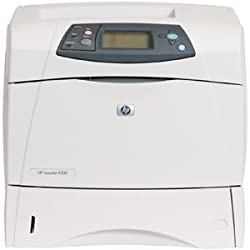 HP LaserJet 4200 (No Toner) 35ppm Monochrome Laser Printer 35ppm 600-Sheets 1200x1200dpi B&W 48MB PC Q2425A Q2425AR#ABA