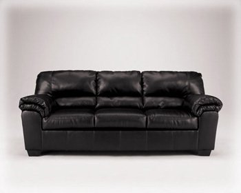 Sofa by Ashley - Black Faux Leather (6450038)