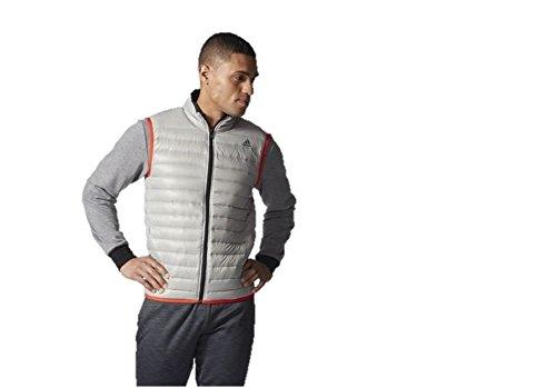 Adidas Herren Weste D Vest Light, Grau, XXL, AA1374