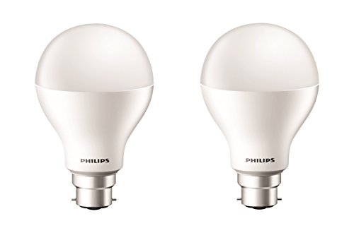 Philips 15 W B22 LED Bulb (Cool Day Light, Pack of 2)