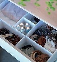 Comprar Ikea - Cajas organizadoras, juego de 6, mantén tus cajones organizados - blanco