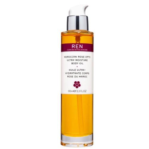 REN Moroccan Rose Otto Ultra-Moisture Body Oil, Körperöl, 100 ml thumbnail