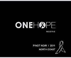 2011 ONEHOPE North Coast Reserve Pinot Noir 750 mL
