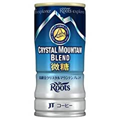 JT Roots explorer(ルーツ エクスプローラー) クリスタルマウンテンブレンド 微糖