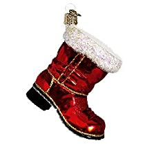 Old World Christmas Santas Boot Ornament