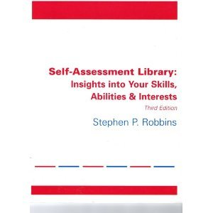 Self-Assessment Library  by Stephen P Robbins
