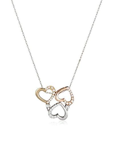 Bentelli Collar  Oro Blanco / Oro Rosa