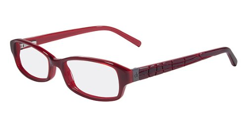 Calvin Klein CALVIN KLEIN CK Eyeglasses 5690 605 Bordeaux Red 48MM