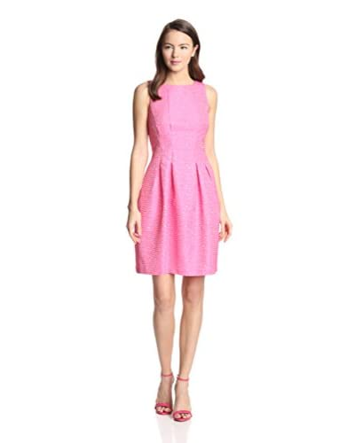 Gabby Skye Women's Sleeveless Textured Dress