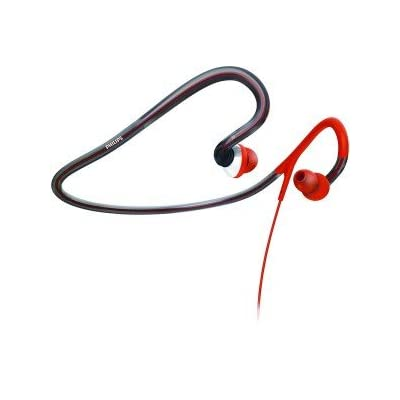 New Philips Shq4000 28 Sport Neckband Headphones Flexible Lightweight Neckband Design Ultra-Soft