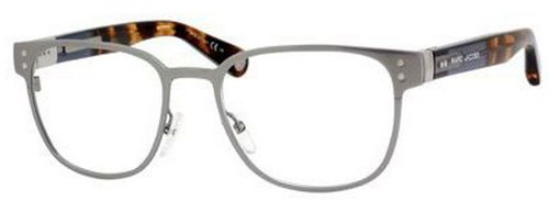 Marc JacobsMarc Jacobs MJ477 Eyeglasses-050L Ruthenium Blue Brown Havana-52mm