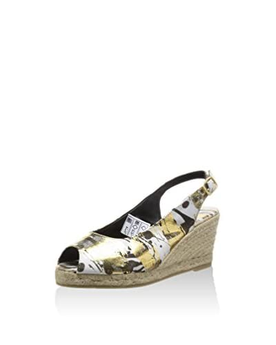 Desigual Keil Pumps SHOES JARDIN goldfarben