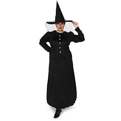Wicked Witch Adult Plus Costume 1X (Wicked Witch Of The West Broom)