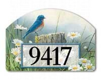 Morning Bluebird Garden Sign