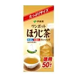 伊藤園 ワンポットほうじ茶ティーバッグ 50P