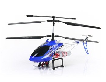 SONGYANG 8088-50 3.5 Channel Digital RC Helicopter with GYRO Light EU Plug (Blue)