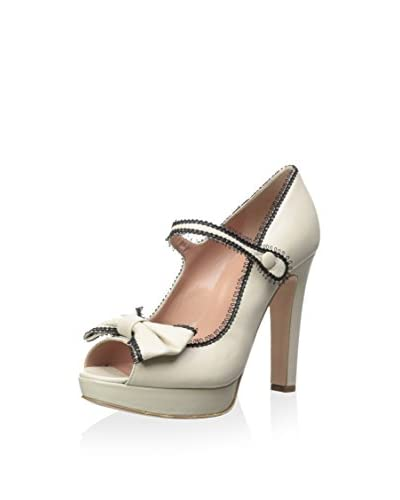 RED Valentino Women's Open Toe Mary Jane Pump
