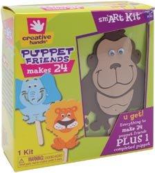 Fibre Craft Foam Kit Makes 24 Puppet Friends 50362E; 3 Items/Order