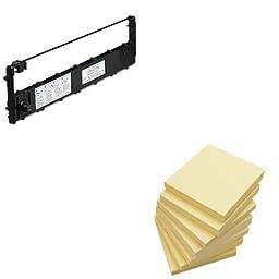 KITGCM3A1600B22UNV35668 - Value Kit - Tallygenicom 3A1600B22 Ribbon (GCM3A1600B22) and Universal Standard Self-Stick Notes (UNV35668)