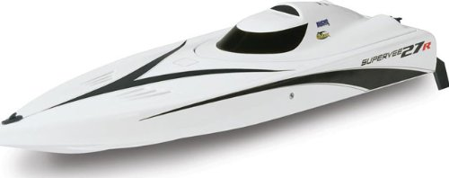 SuperVee 27R Brushless FE 2.4GHz Boat White