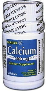 Calcium Tablets, 600Mg, 60Ct (Pack Of 2)